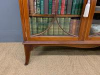 Inlaid Mahogany Bookcase by Maple & Co (13 of 21)