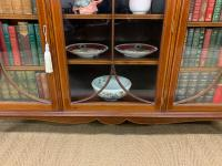 Inlaid Mahogany Bookcase by Maple & Co (14 of 21)