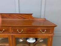 Inlaid Mahogany Bookcase by Maple & Co (15 of 21)