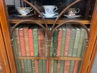 Inlaid Mahogany Bookcase by Maple & Co (16 of 21)