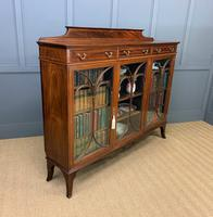 Inlaid Mahogany Bookcase by Maple & Co (17 of 21)