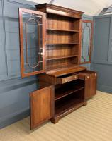 Edwardian Inlaid Mahogany Bookcase (4 of 21)