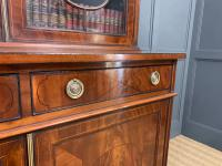Edwardian Inlaid Mahogany Bookcase (8 of 21)
