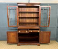 Edwardian Inlaid Mahogany Bookcase (3 of 21)