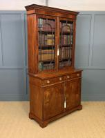 Edwardian Inlaid Mahogany Bookcase (17 of 21)
