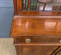 Edwardian Inlaid Mahogany Bookcase (11 of 21)
