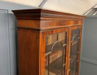 Edwardian Inlaid Mahogany Bookcase (21 of 21)