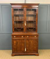 Edwardian Inlaid Mahogany Bookcase (2 of 21)