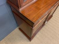 Edwardian Inlaid Mahogany Bookcase (16 of 21)