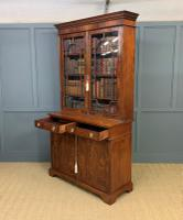 Edwardian Inlaid Mahogany Bookcase (20 of 21)