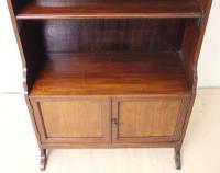 Edwardian Mahogany Open Bookcase (6 of 9)
