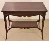 Mahogany Occasional Lamp Table (8 of 9)