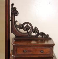 Victorian Mahogany Dressing Chest / Mirror c.1860 (4 of 14)
