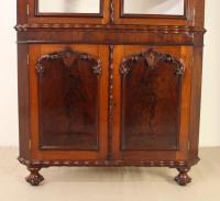 Large Victorian Mahogany Corner Cabinet (10 of 12)