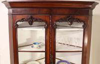 Large Victorian Mahogany Corner Cabinet (8 of 12)