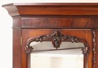 Large Victorian Mahogany Corner Cabinet (12 of 12)