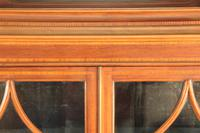 Edwardian Inlaid Mahogany Display Cabinet c.1900 (4 of 7)