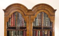 Dome Topped Walnut Bureau Bookcase c.1900 (15 of 18)