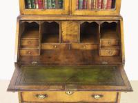 Dome Topped Walnut Bureau Bookcase c.1900 (18 of 18)