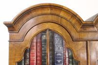 Dome Topped Walnut Bureau Bookcase c.1900 (10 of 18)