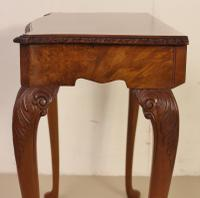 Burr Walnut Side Console Table c.1920 (2 of 13)