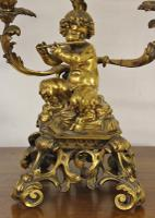 Excellent Gilt Bronze Table Lamp c.1870 (3 of 9)