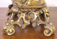 Excellent Gilt Bronze Table Lamp c.1870 (7 of 9)