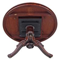 Victorian 19th Century Rosewood Loo Breakfast Centre Table Tilt Top (17 of 17)