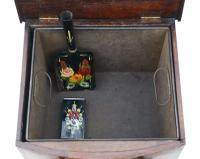 Victorian Mahogany Coal Scuttle Box or Cabinet