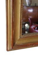 Large 19th Century Gilt Overmantle or Wall Mirror (7 of 8)