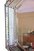 19th Century Large Quality Venetian Glass Overmantle or Wall Mirror (5 of 8)