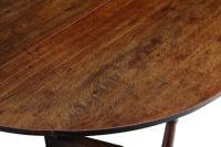 18th Century Oak Gate-Leg Drop Leaf Dining Table (4 of 9)