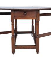 18th Century Oak Gate-Leg Drop Leaf Dining Table (3 of 9)