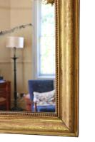 19th Century Quality Gilt Overmantle Wall Mirror (4 of 6)