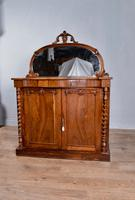 Antique Victorian Rosewood Chiffonier Side Cabinet