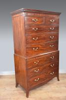 Georgian Mahogany Chest on Chest Tallboy (3 of 4)