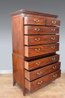 Georgian Mahogany Chest on Chest Tallboy (2 of 4)
