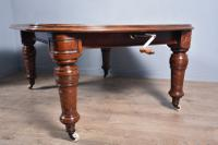 Large Victorian Mahogany 12 Seat Dining Table (4 of 7)