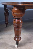Large Victorian Mahogany 12 Seat Dining Table (5 of 7)