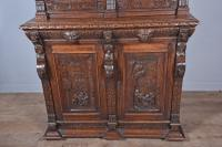 Carved Oak Green Man Bookcase c.1890 (4 of 9)