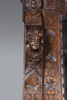 Carved Oak Green Man Bookcase c.1890 (7 of 9)