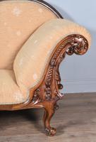 Fine Victorian Walnut Chaise Longue (3 of 8)