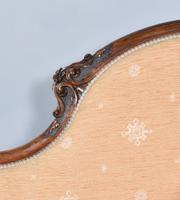 Fine Victorian Walnut Chaise Longue (4 of 8)