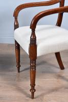 Set of Eight Regency Mahogany Dining Chairs (4 of 9)