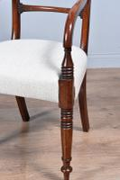 Set of Eight Regency Mahogany Dining Chairs (5 of 9)