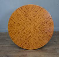 Art Deco Satin Birch Circular Coffee Table (2 of 3)