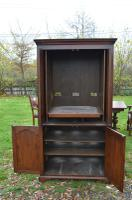 Very Large English Oak TV Entertainment Cabinet Titchmarsh Goodwin Style (3 of 6)