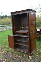 Very Large English Oak TV Entertainment Cabinet Titchmarsh Goodwin Style (4 of 6)