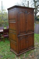 Very Large English Oak TV Entertainment Cabinet Titchmarsh Goodwin Style (5 of 6)