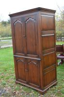 Very Large English Oak TV Entertainment Cabinet Titchmarsh Goodwin Style (6 of 6)